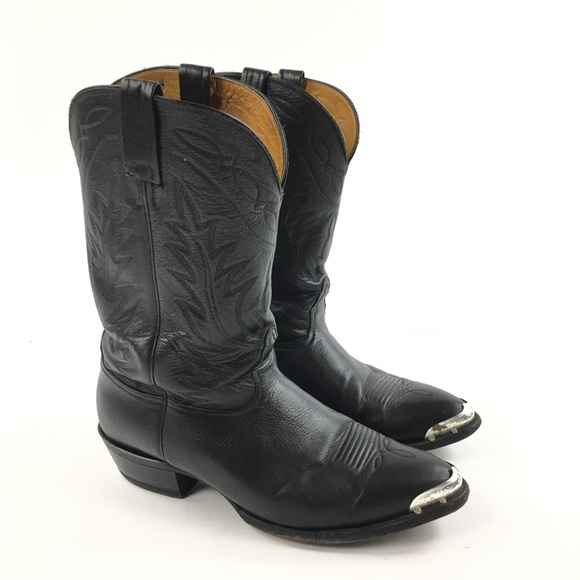 Nocona Metal Toes Made In USA Western Cowboy Boots